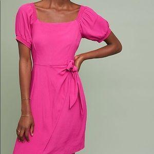NWT Anthropologie Maeve Resort wrap dress size 14